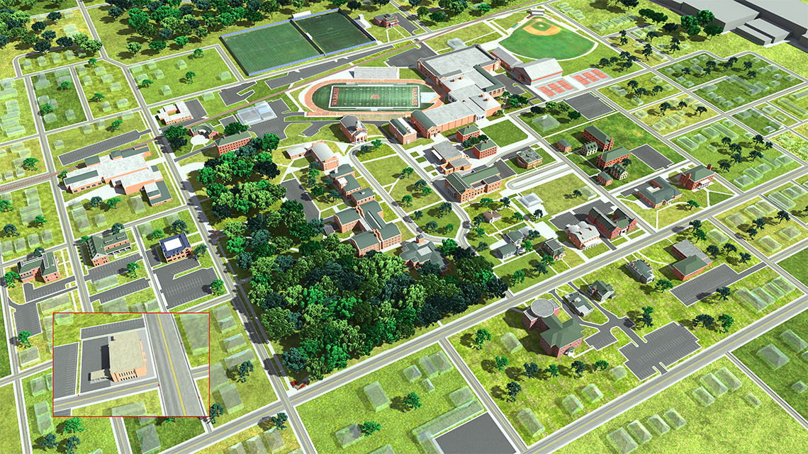 Wabash College Campus Map